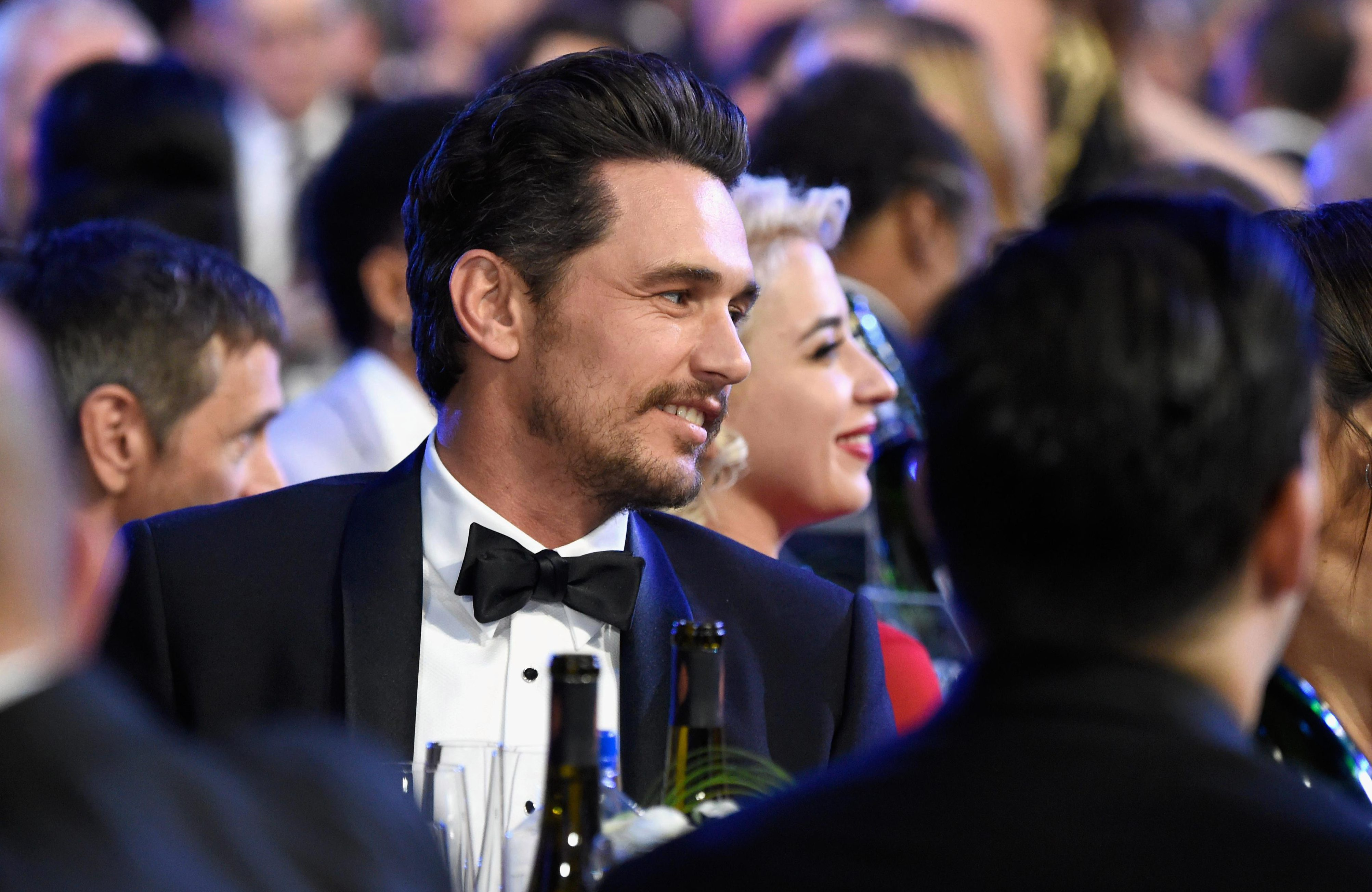 James Franco attends SAG Awards following sexual misconduct claims