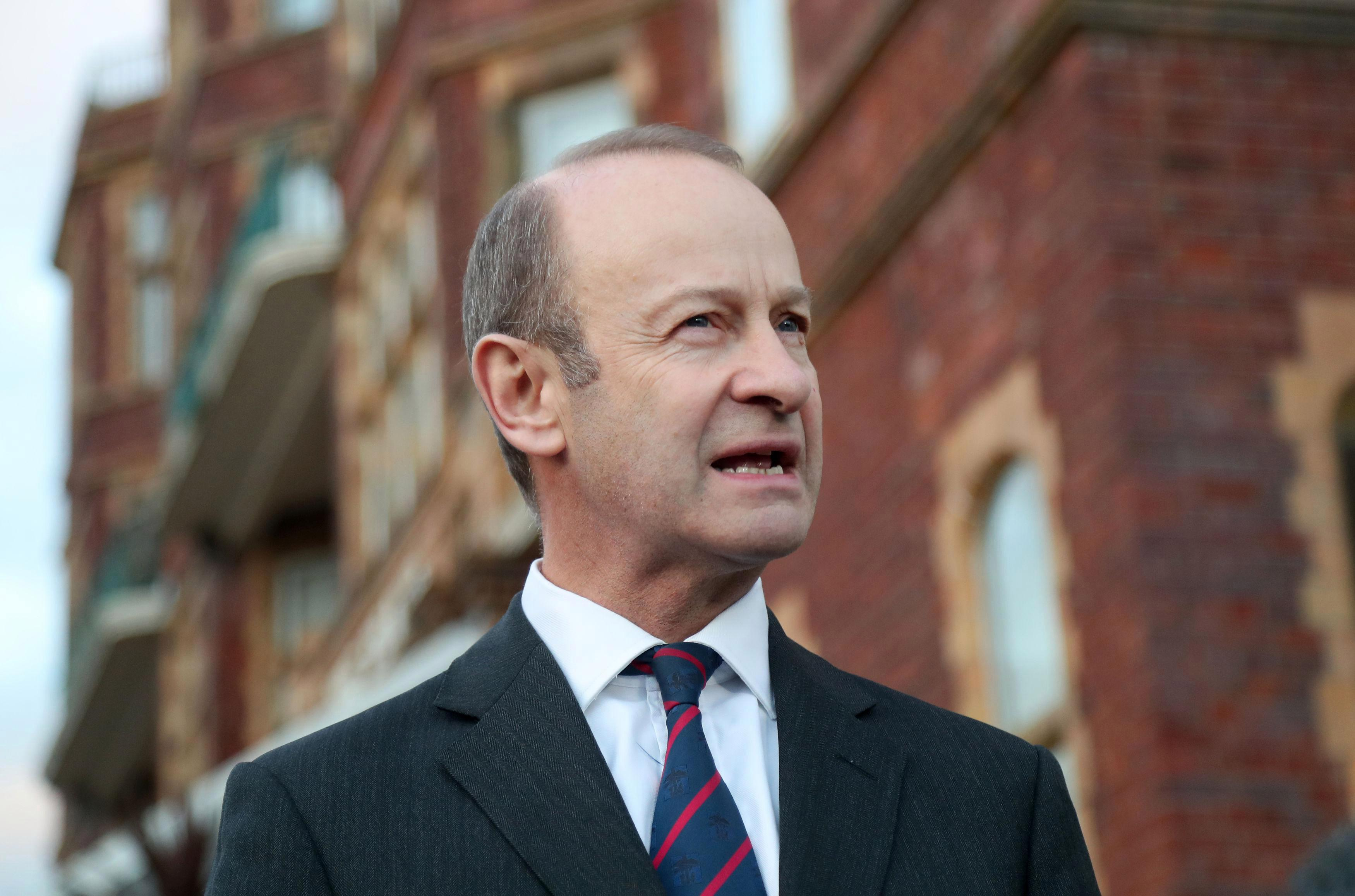 Ukip leader Henry Bolton admits he's spent all his savings after party stopped paying him to try and force him to quit over Jo Marney scandal