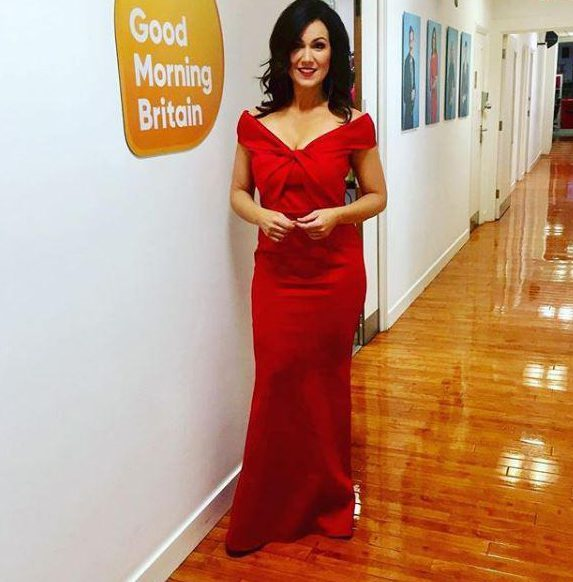 Susanna Reid wears plunging red gown as Scarlett Moffatt, Holly Willoughby, Katie Price and more celebs give fans a sneak peek of NTA glamour ahead of star-studded red carpet – The Sun