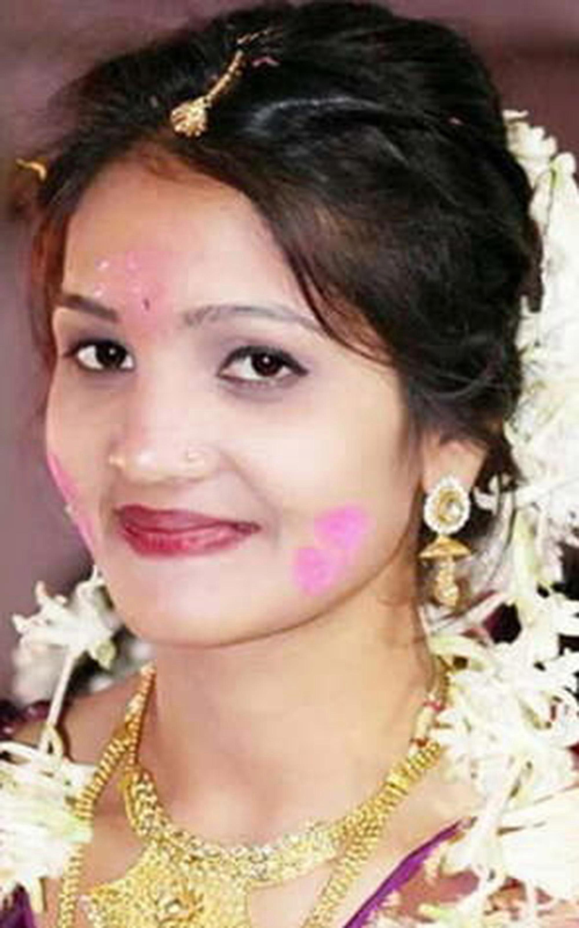 Bride-to-be kills herself with POISON days before her wedding after being 'blackmailed by ex'