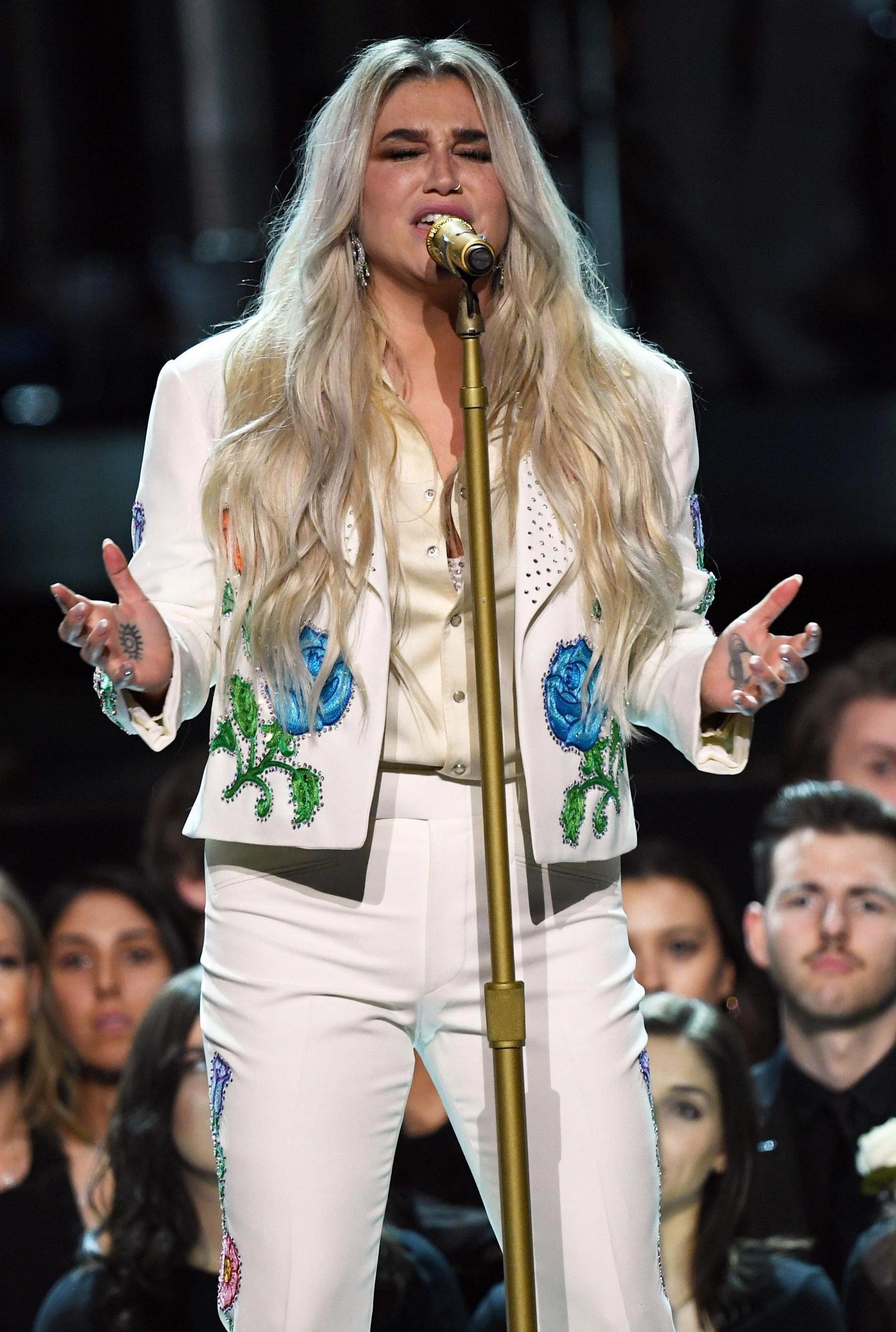 Who is Kesha, what did she sing at the Grammys 2018 and what allegations has she made against Dr Luke?