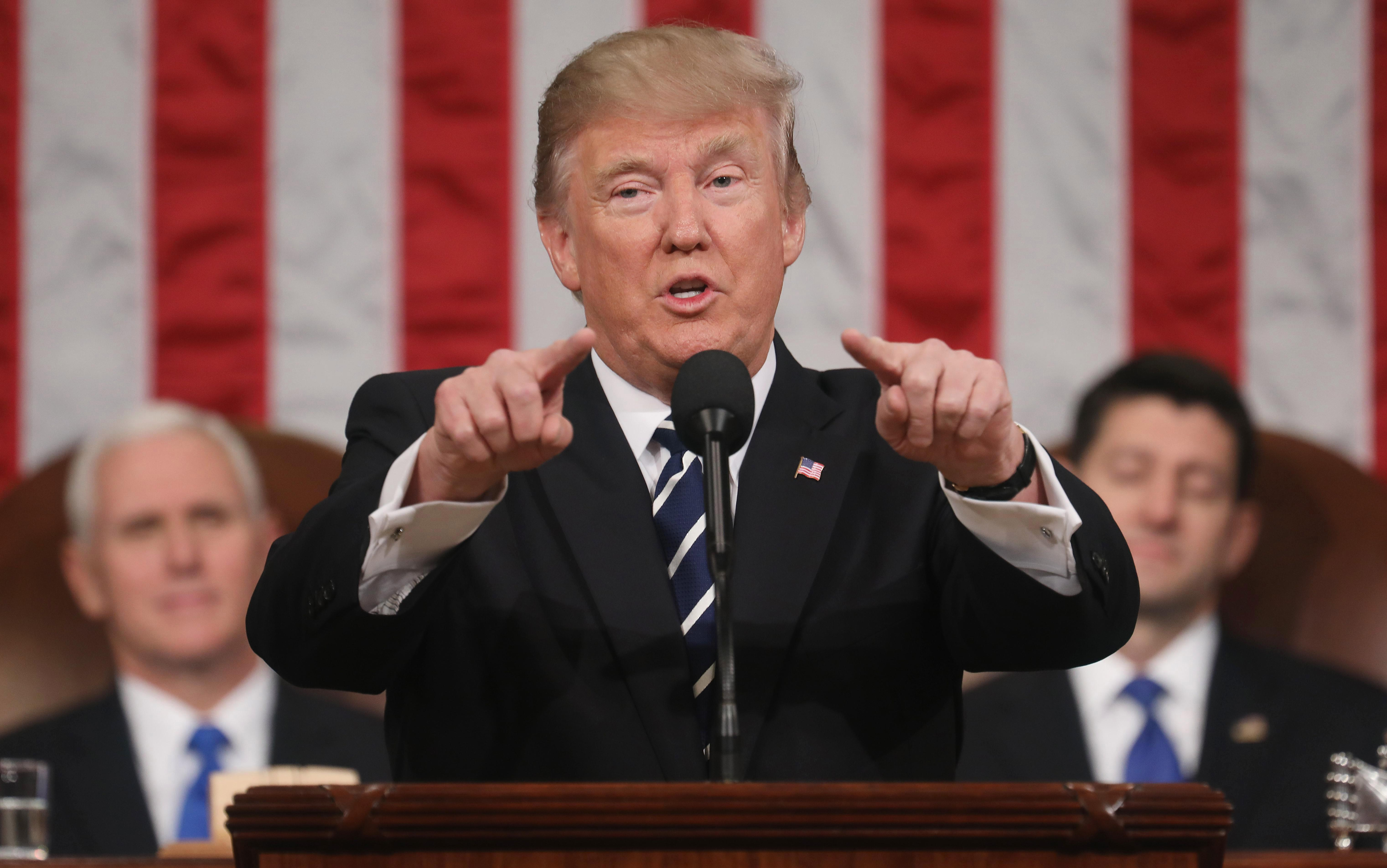 When is the State Of The Union address 2018, what will Donald Trump say in his speech and who is Joe Kennedy III?