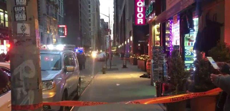 Tourist among innocent bystanders shot in New York gun spree yards from Empire State Building
