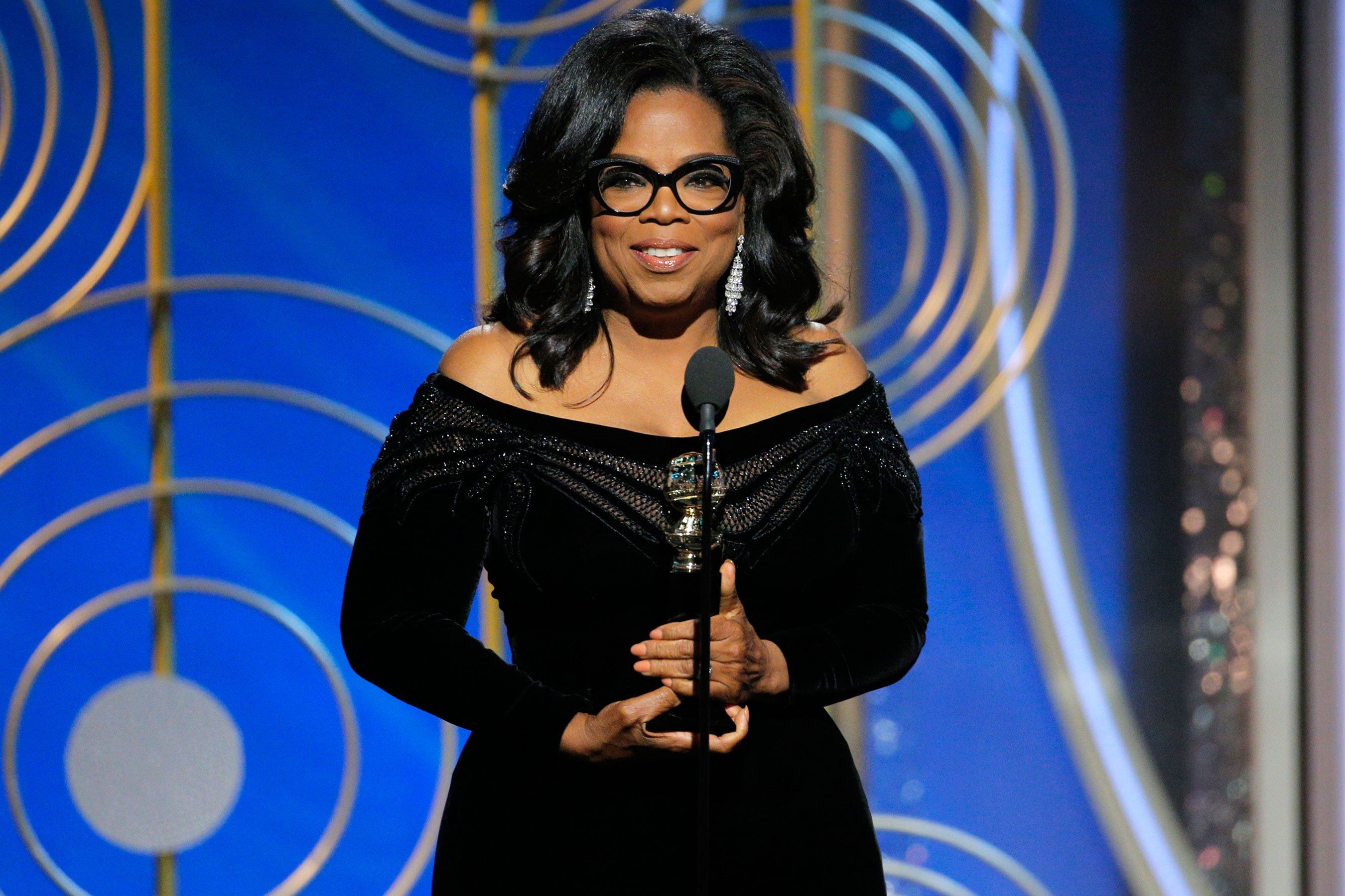 Oprah Winfrey Golden Globes speech now on Spotify