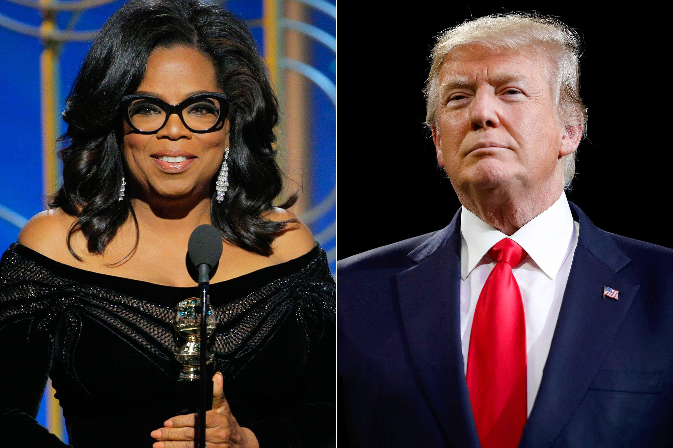 Poll: Oprah would easily beat Trump in 2020 matchup