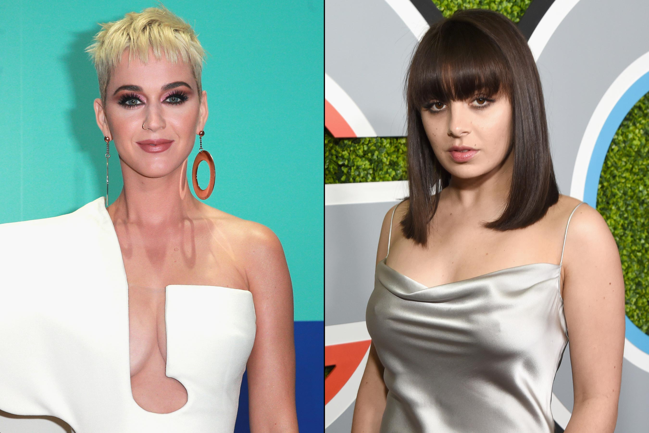Katy Perry, Charli XCX slam Grammys president for saying women need to 'step up'