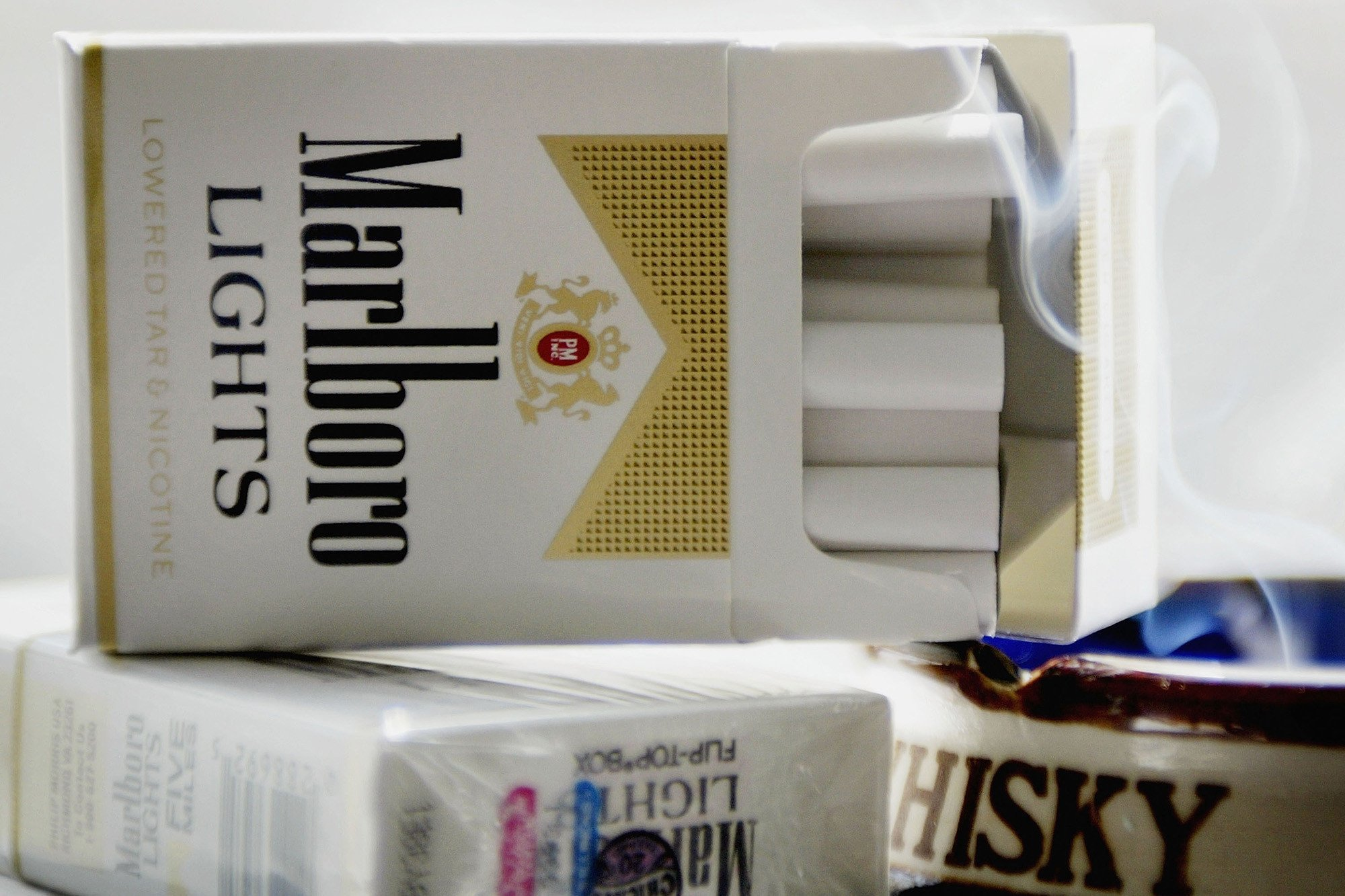 Philip Morris says it's quitting cigarettes