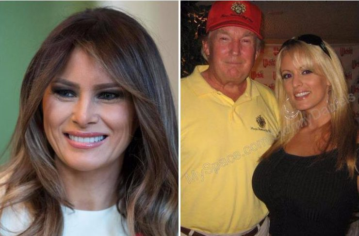 Melania Trump 'spending time away from Donald at posh hotel' after allegations of his affair with porn star Stormy Daniels