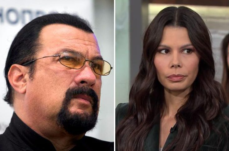Actress Regina Simons recalls moment Steven Seagal allegedly raped her with photo of his wife beside the bed when she was 18