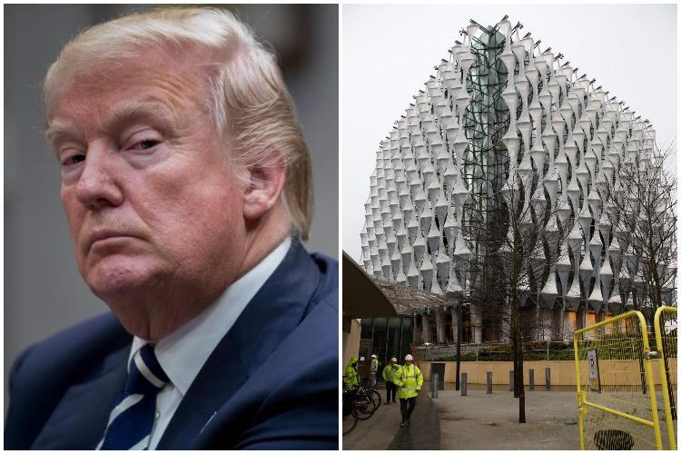 Donald Trump CANCELS visit to UK blaming Obama's 'bad deal' on new embassy