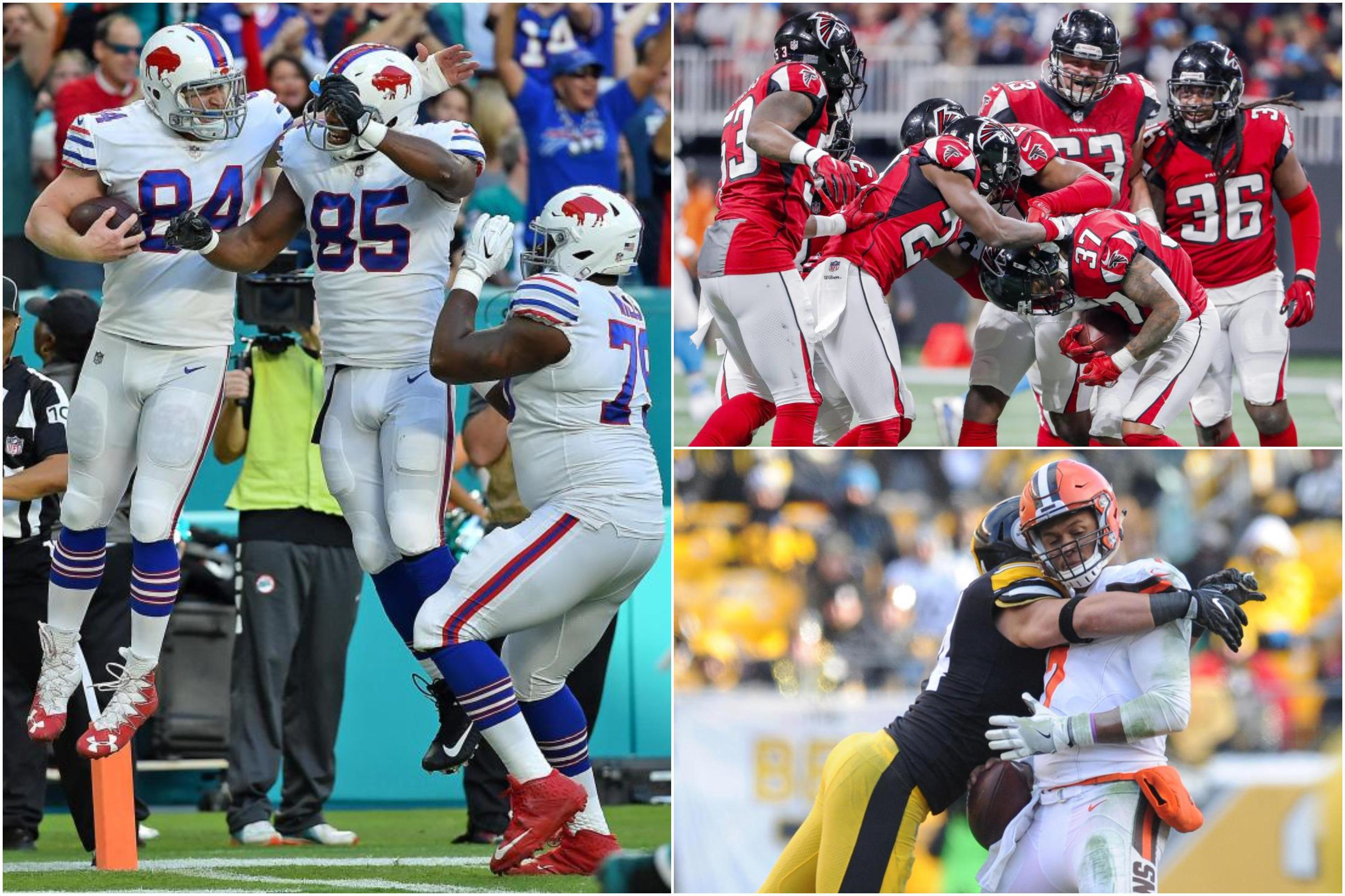 NFL week 17 round-up: Buffalo Bills end playoff drought, Atlanta Falcons and Tennessee Titans qualify and sorry Cleveland Browns end 0-16