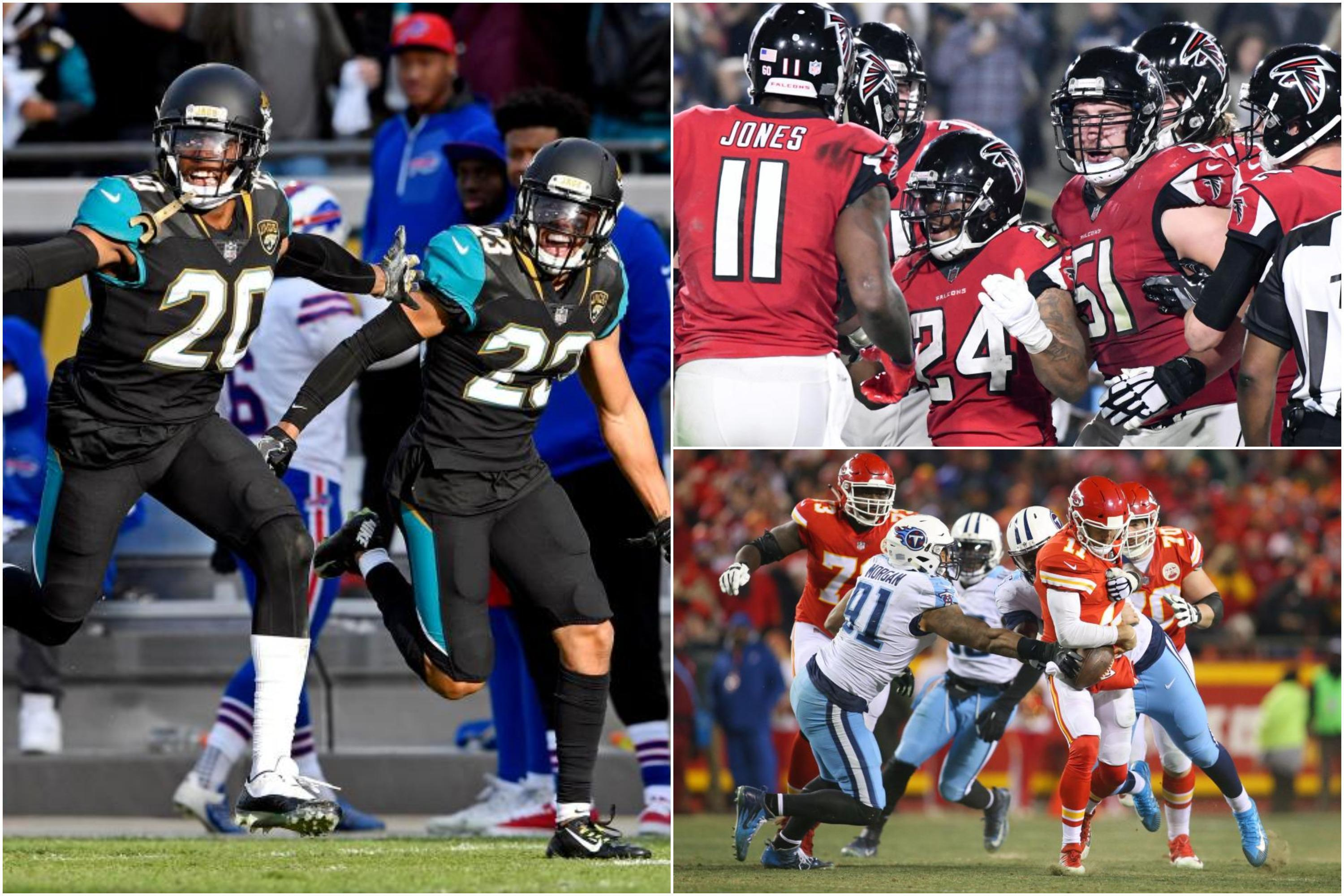 NFL Wild Card playoffs: Atlanta's experience was key, Jacksonville stuck to what they know and Alex Smith may be done in Kansas City