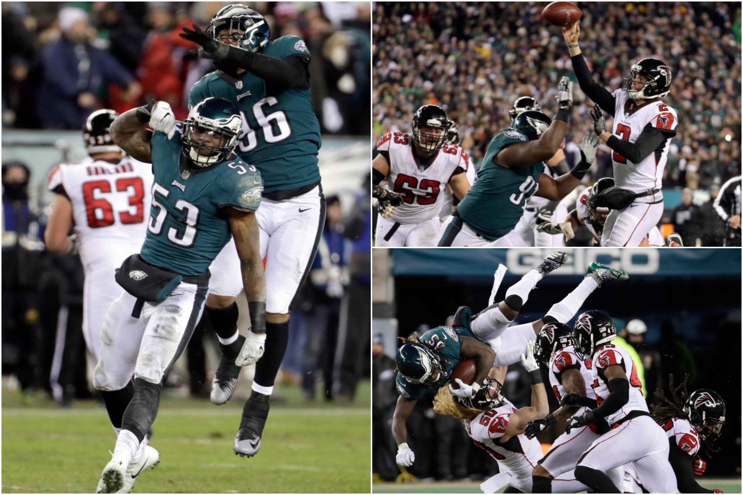 Atlanta Falcons 10 Philadelphia Eagles 15: Nick Foles, Jay Ajayi and Eagles defence seal berth in NFC Championship Game