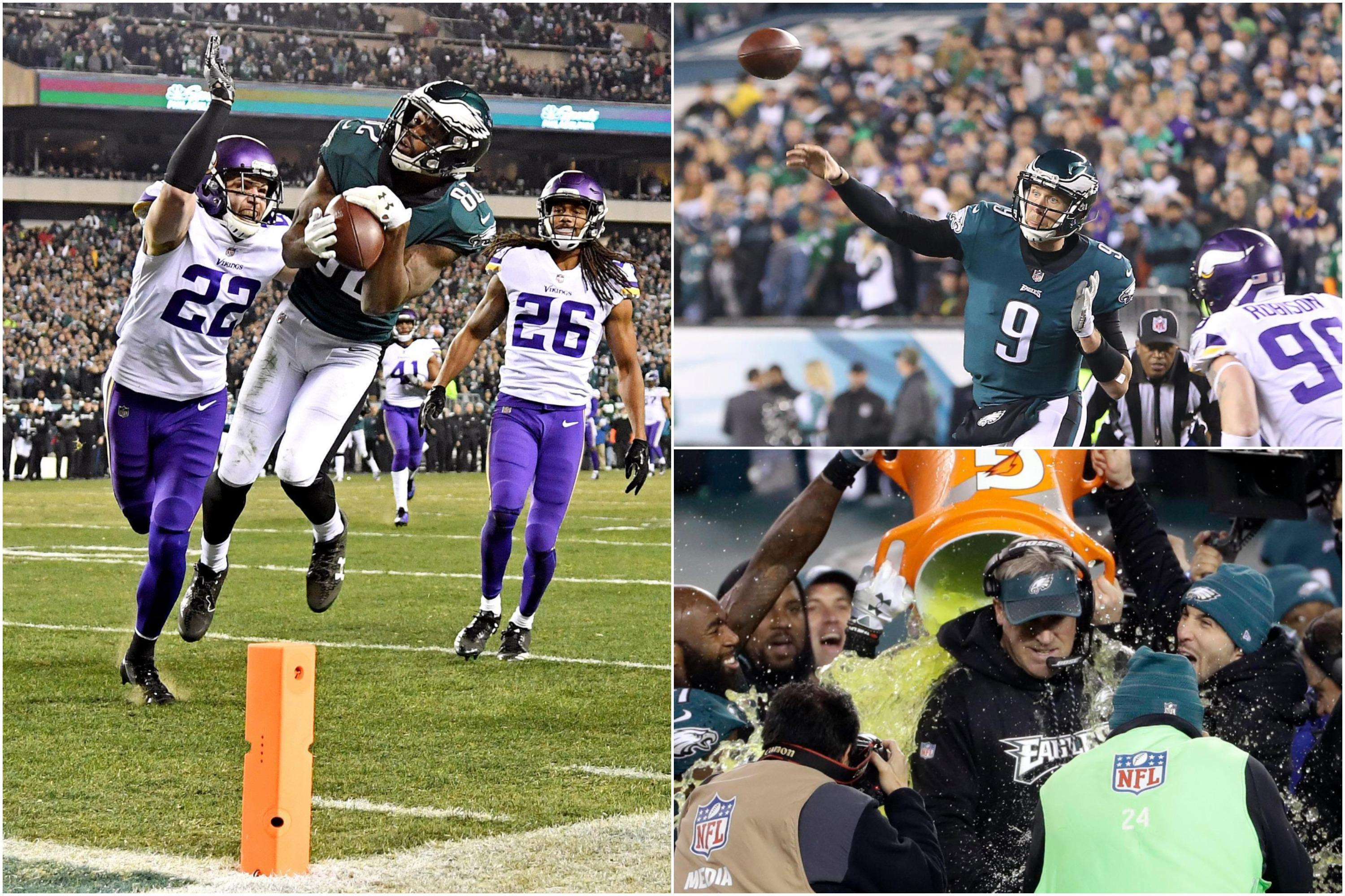 Minnesota Vikings 7 Philadelphia Eagles 38: Nick Foles masterclass sends Philly to Super Bowl showdown with New England Patriots