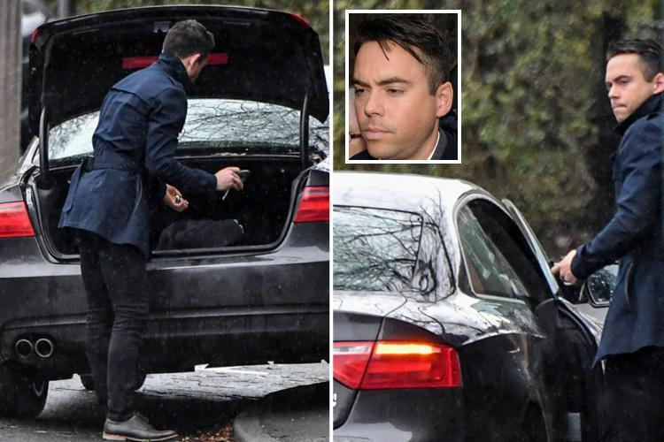 Shamed Coronation Street star Bruno Langley plans to return to telly as a director as he's seen for the first time this year