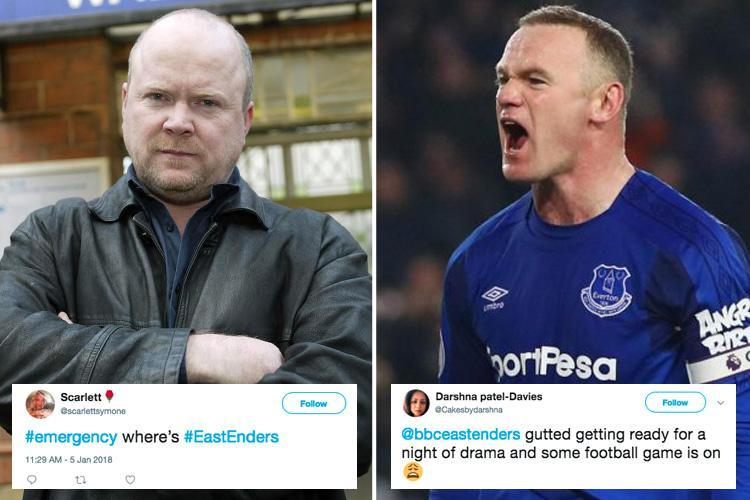EastEnders fans outraged as soap is CANCELLED for football as Liverpool take on Everton in the FA Cup
