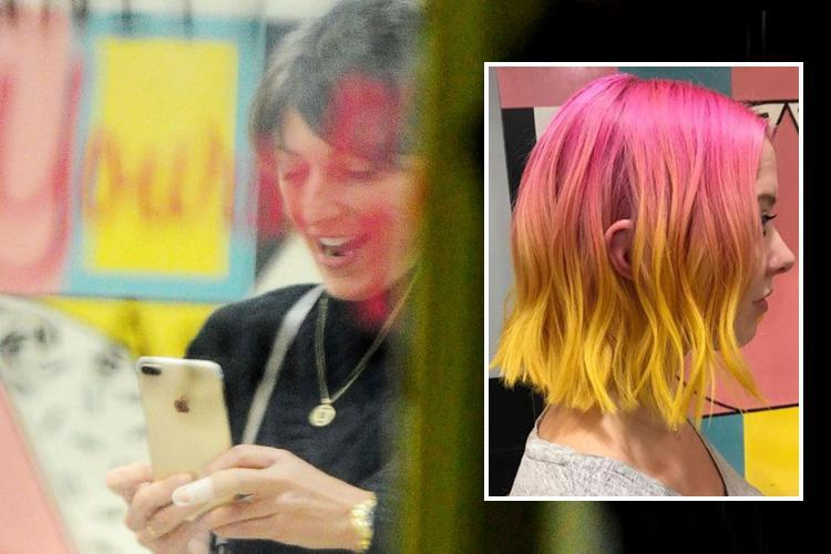 Is Davina McCall planning a dramatic transformation as she's spotted looking happy and healthy without her wedding ring in hair salon?