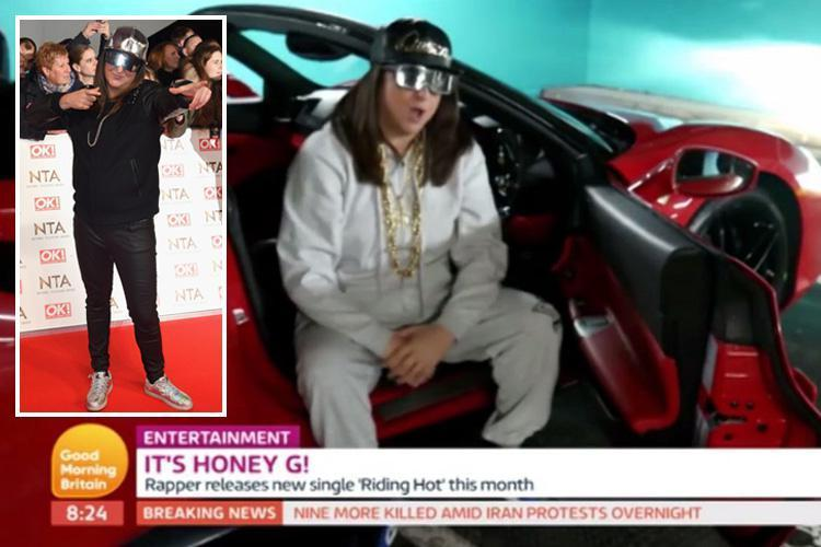 X Factor's Honey G hits back at critics who labelled her and new single Riding Hot 'c**p' saying 'they're just vicious, ignorant haters'