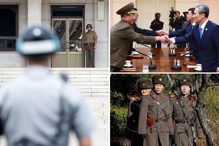 The bloody past of 'Truce Village' Panmunjom dubbed the 'tensest' place on earth 'and where Korean peace talks start today