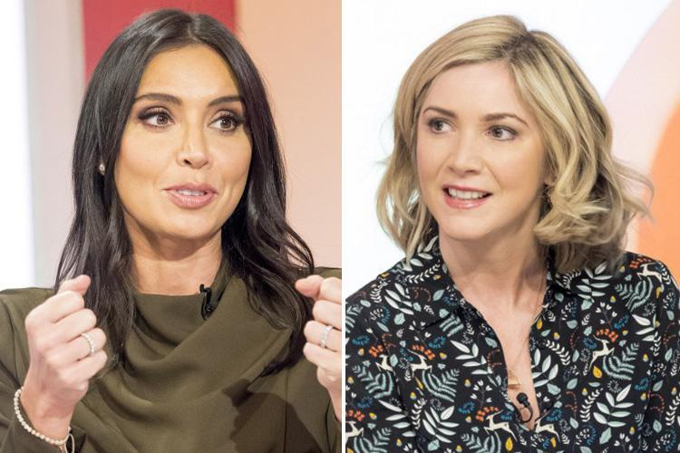 Awkward moment Loose Women's Christine Lampard was blanked by guest star Lisa Faulkner