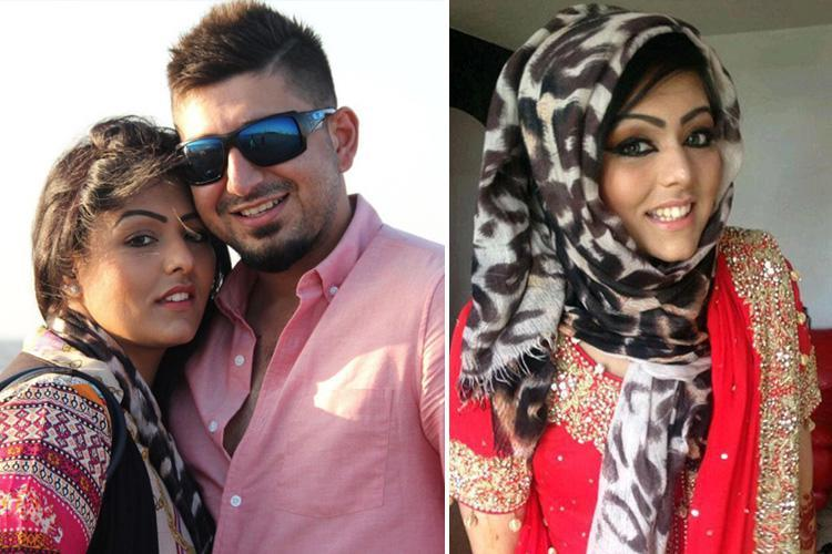 Husband of 'honour killing' victim recalls fear as he dropped wife at the airport for trip she would never come home alive from