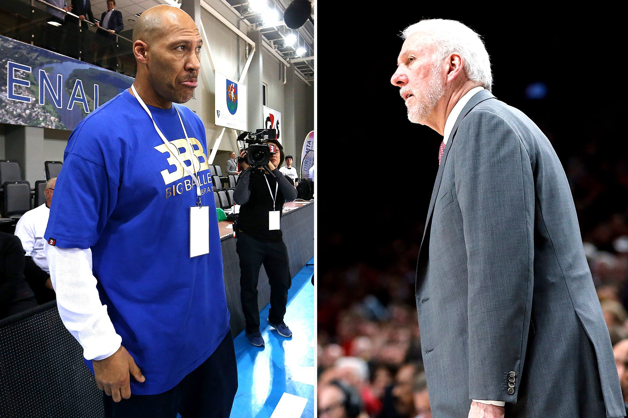 "Gregg Popovich adds to LaVar Ball fury: He's ""meaningless'"