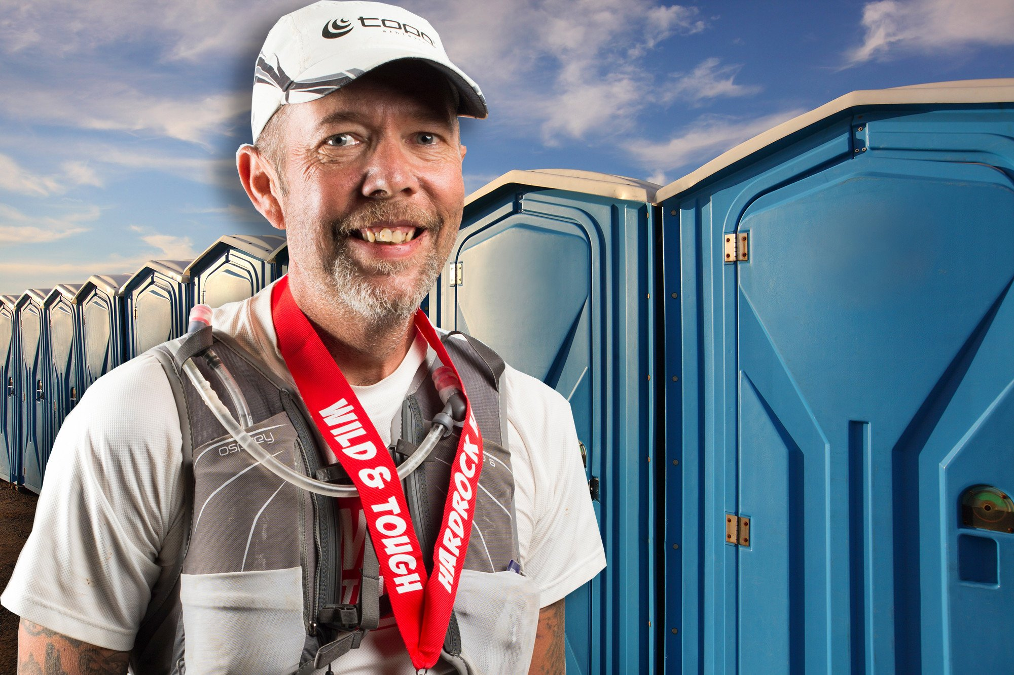 Ultrarunner accused of winning races by hiding in Port-a-Potty
