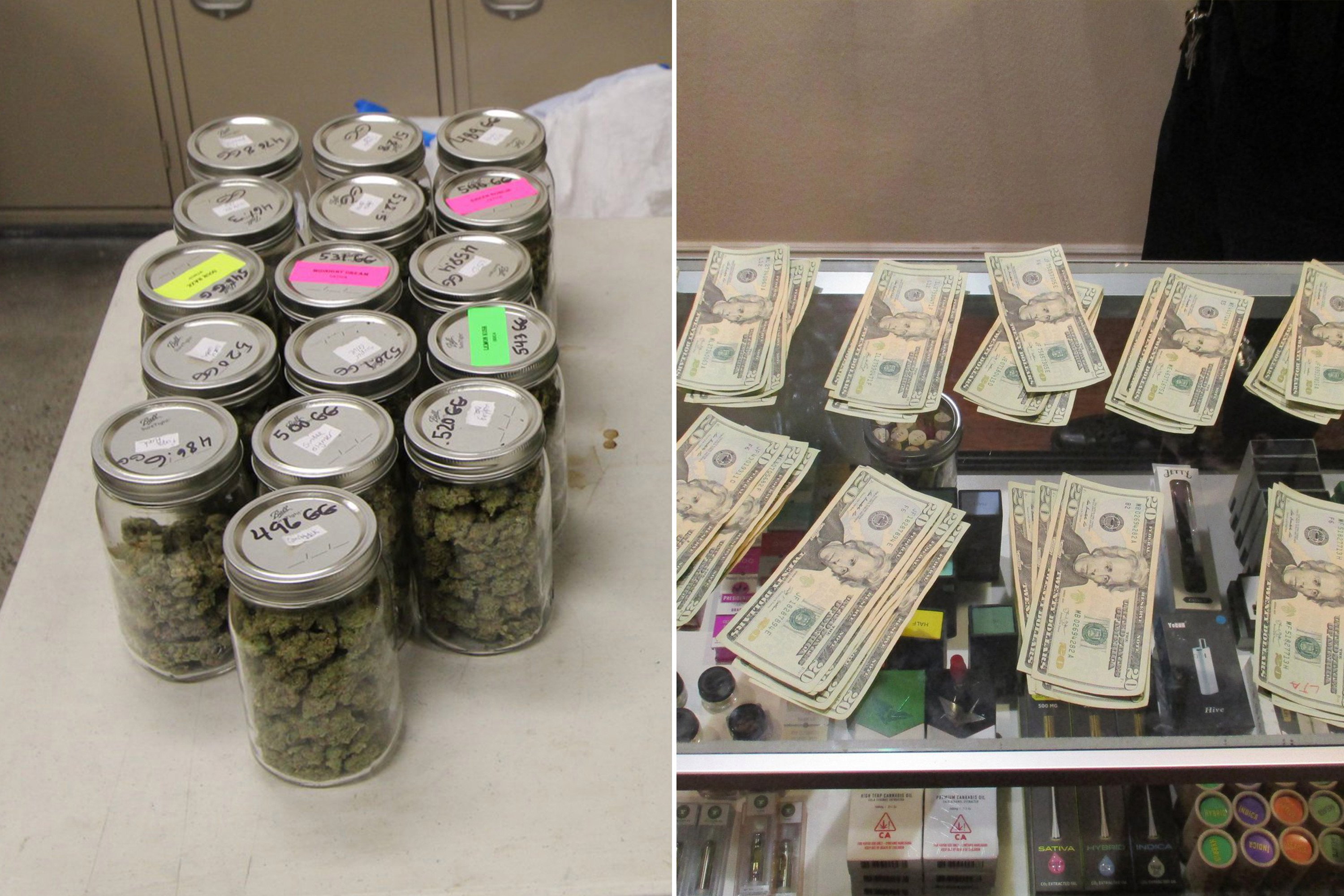 'Clearly, it wasn't incense': Cops bust illegal pot shop disguised as church