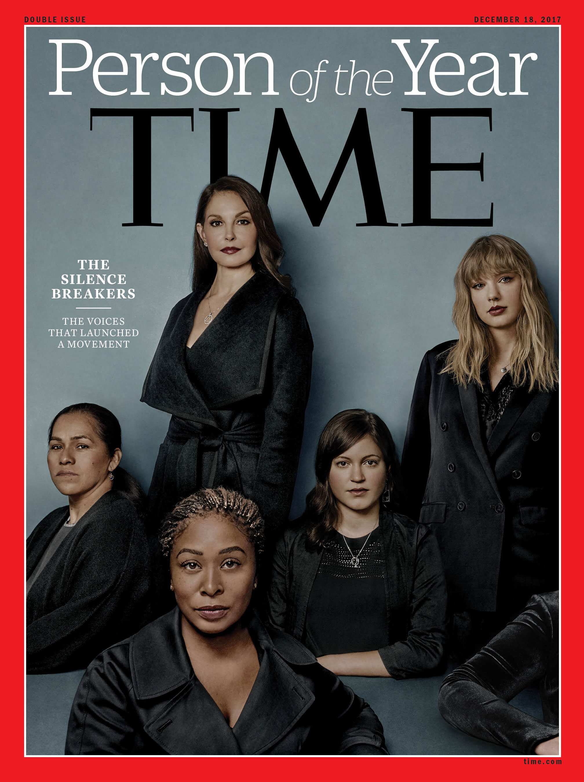 TIME Person of the Year 2017: Women who spoke out against sexual misconduct