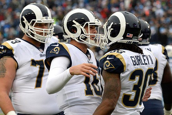 Playoffs a chance for Rams to win Los Angeles' heart