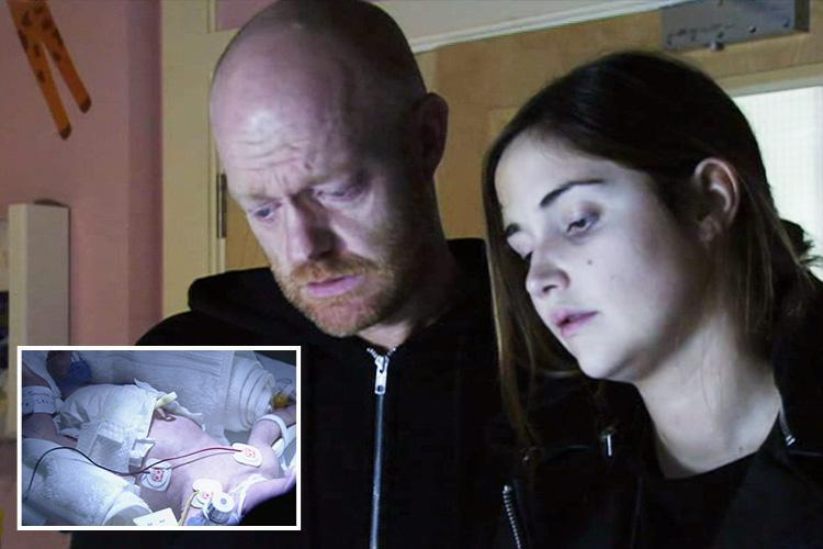 EastEnders fans spot huge blunder as Abi Branning's newborn baby's hospital tag has the WRONG last name written on it