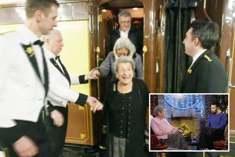 This Morning fans' tears as Rylan Clark Neal makes 89-year-old woman's dying wish come true