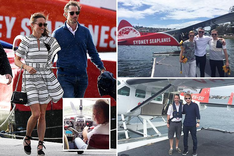 Sydney seaplane crash firm is popular with dozens of celebs including Ed Sheeran, Sam Smith and Pippa Middleton