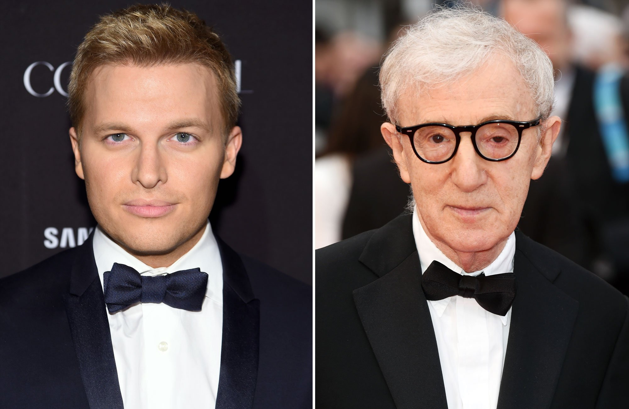 Woody Allen's son Ronan Farrow says 'family background' helped him understand 'abuse of power'