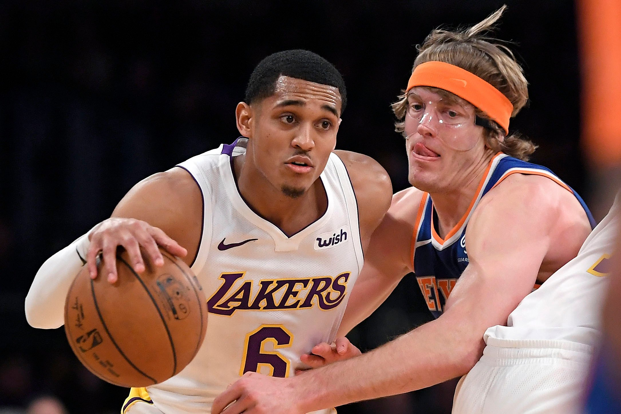 The Knicks want the face of their team to be masked
