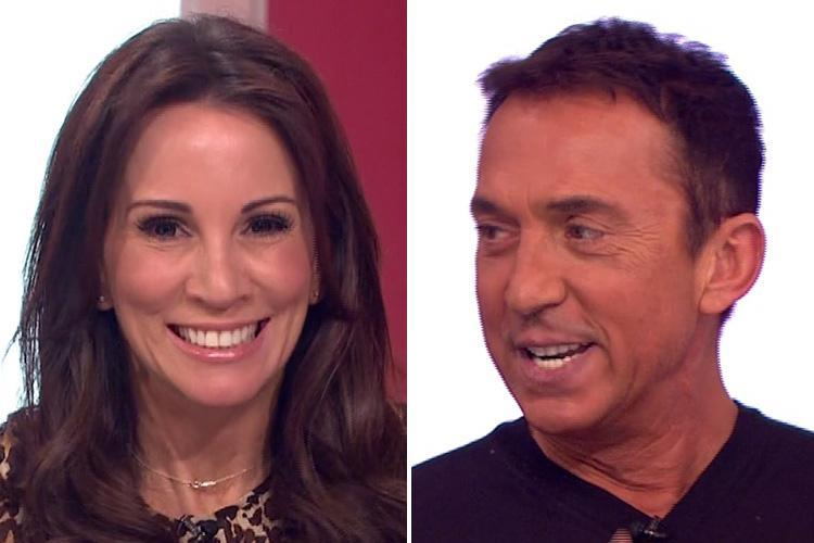 Andrea McLean forced to apologise after Bruno Tonioli swears live on Loose Women