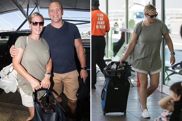 Zara and Mike Tindall seen for the first time since announcing they are expecting their second child