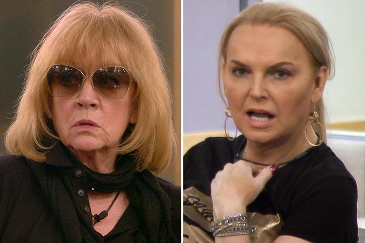 Celebrity Big Brother fans' as fury India Willoughby is called 'he' again – this time by Amanda Barrie