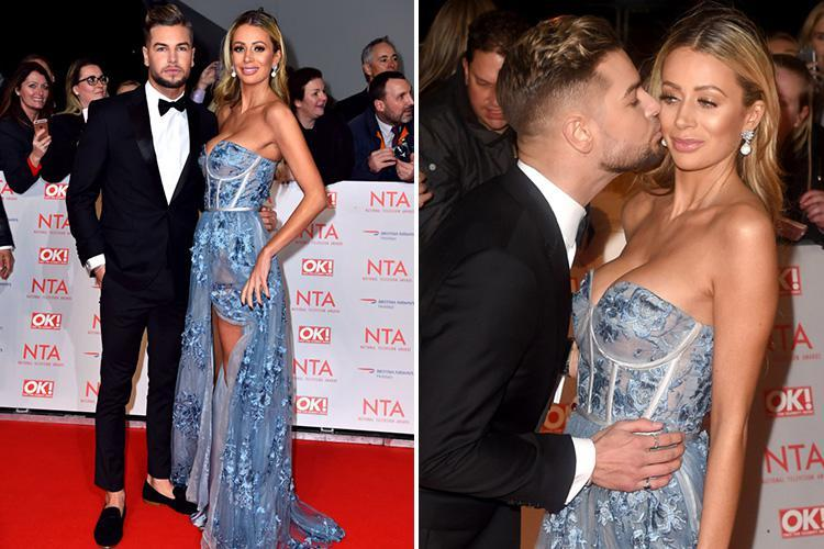 Chris Hughes and Olivia Attwood have explosive NTAs bust up after announcing they've landed their own TV show