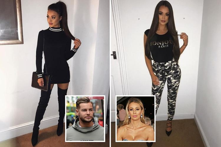 Chris Hughes likes sexy fashion student's pictures days after furious NTAs bust up with girlfriend Olivia Attwood