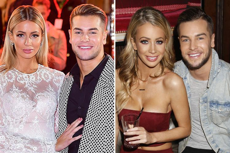 Love Island's Chris Hughes and Olivia Attwood star in cringe-worthy clip from reality show Crackin' On where they shop for furniture together