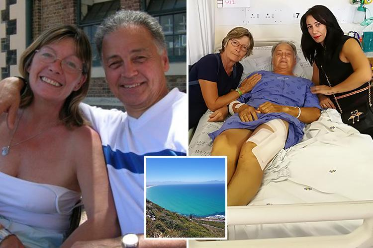 Brit OAP couple stabbed and pelted with rocks as wife, 67, fights off robbers on hiking holiday in Cape Town