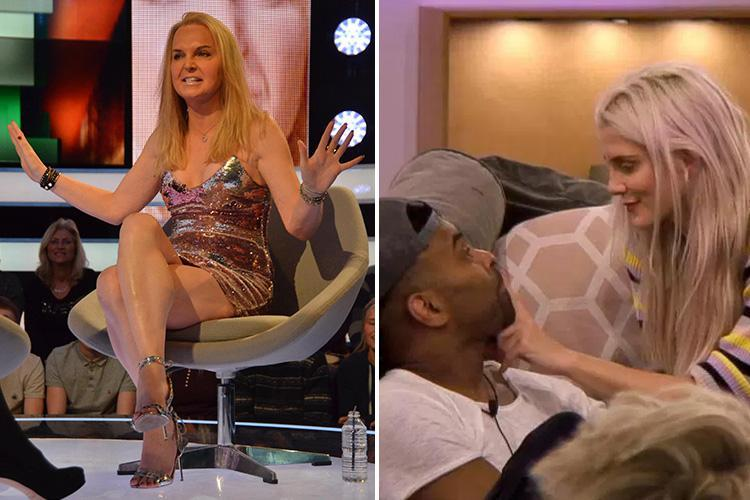 Celebrity Big Brother's India Willoughby slams 'fake romance' between Ginuwine and Ashley James
