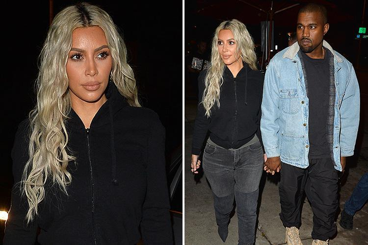 Kim Kardashian's surrogate is giving birth 'any day now' and she and Kanye West are on 'high alert' to rush to the hospital