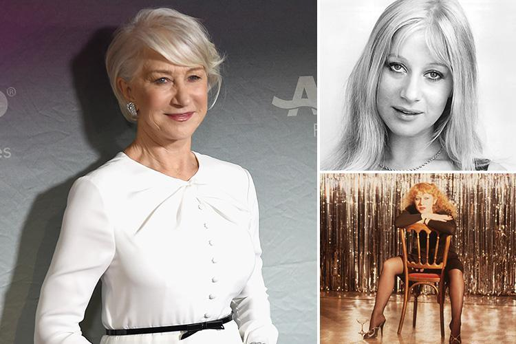 Helen Mirren reveals men flashed her at least once a week when she was younger