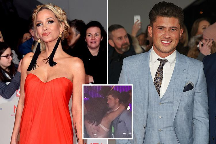 Sarah Harding's X-rated chat up lines to Ex On The Beach star Jordan Davies who snubs her for snog with RHOC star