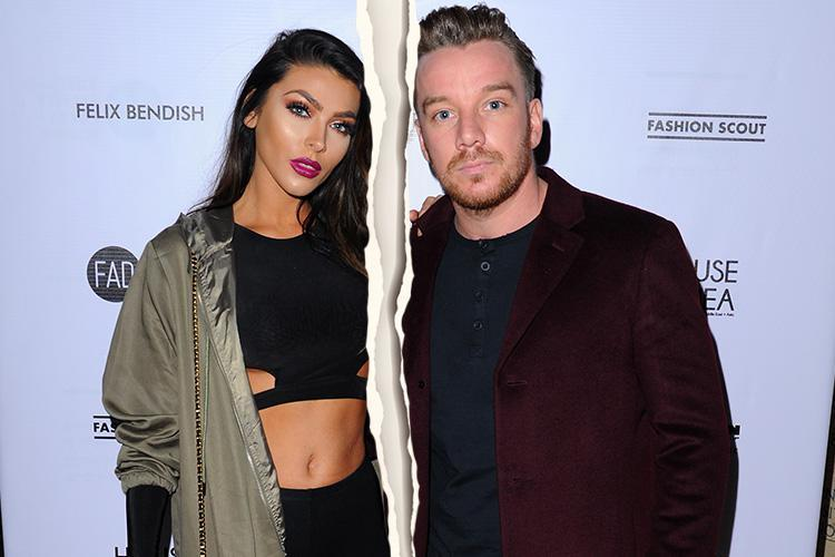 Footballer Jamie O'Hara splits with fiancee Elizabeth-Jayne Tierney as she moves out of his Essex home