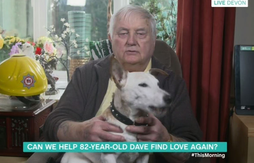 This Morning viewers left in tears by 82-year-old widower who appeared on the show to find love