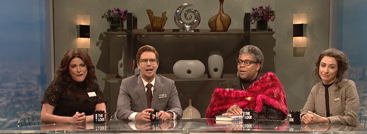 SNL spoofs Frances McDormand bleeping, Golden Globes fashion coverage