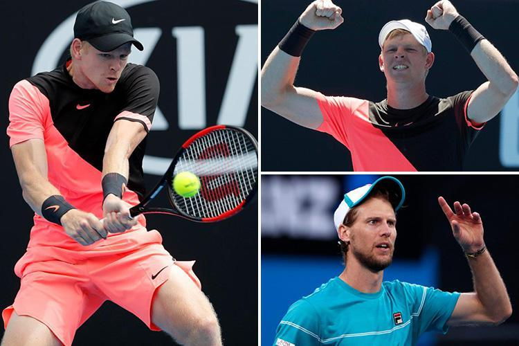 Australian Open 2018: Kyle Edmund makes history by reaching his first Grand Slam quarter final after 6-7 7-5 6-2 6-3 against Andreas Seppi